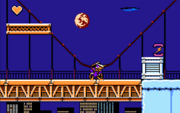 Retro-Game: Darkwing Duck