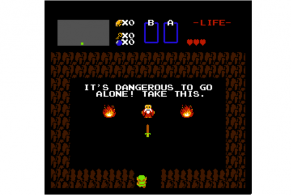 Retro-Game: The Legend of Zelda