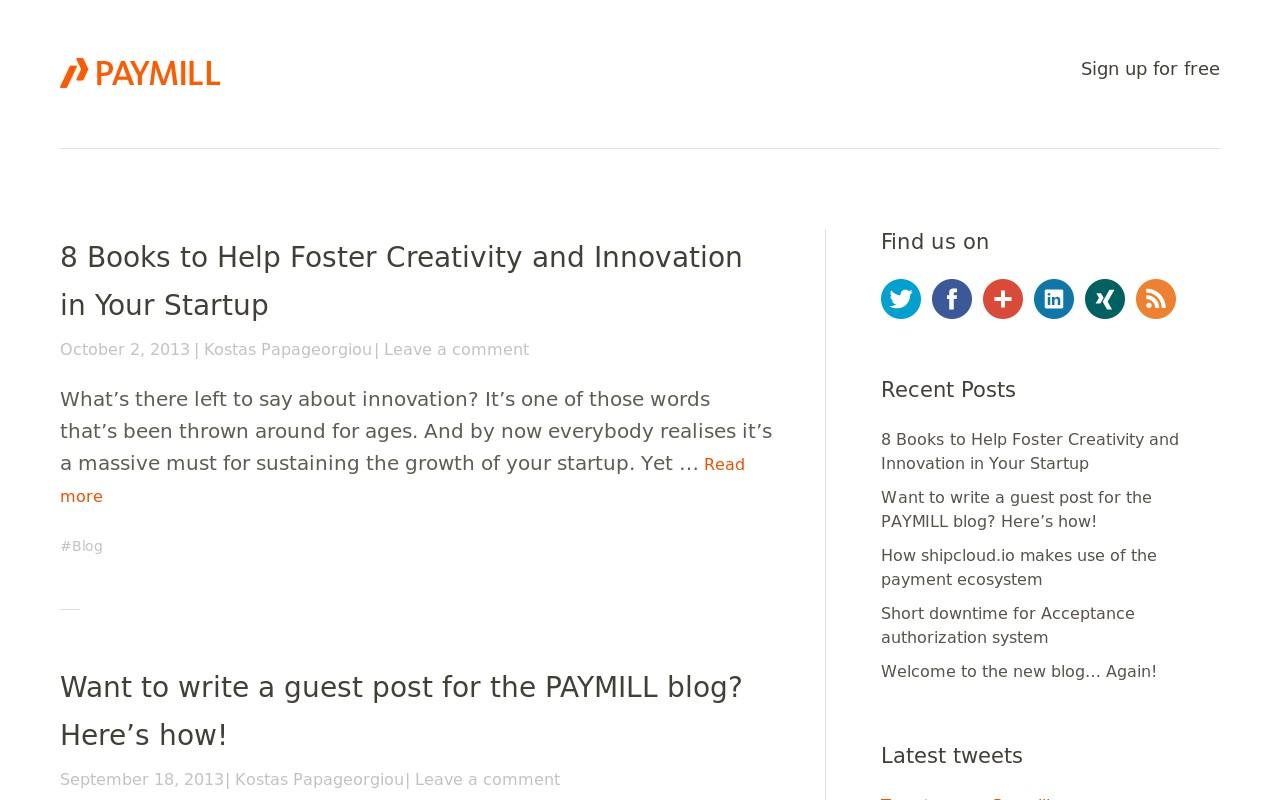 Startup-Blogs: 10 Beispiele für richtig tolles Content