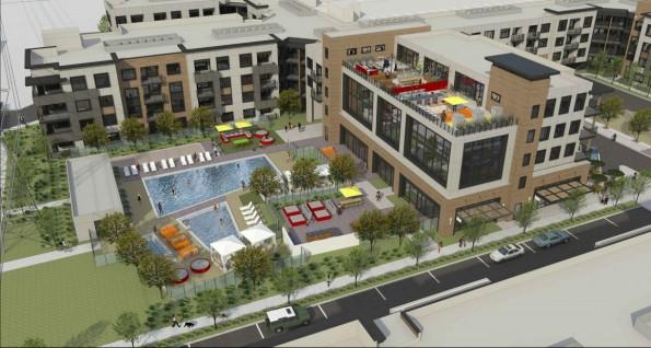 Facebook: In der Mitte der kleinen Siedlung finden sich Pools und Grünanlagen. (Bild: Facebook)