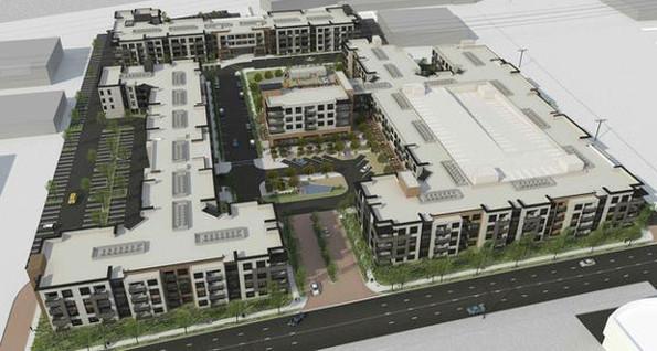 Ein Wohnkomplex nach der Vorstellung von Facebook. (Bild: Facebook)