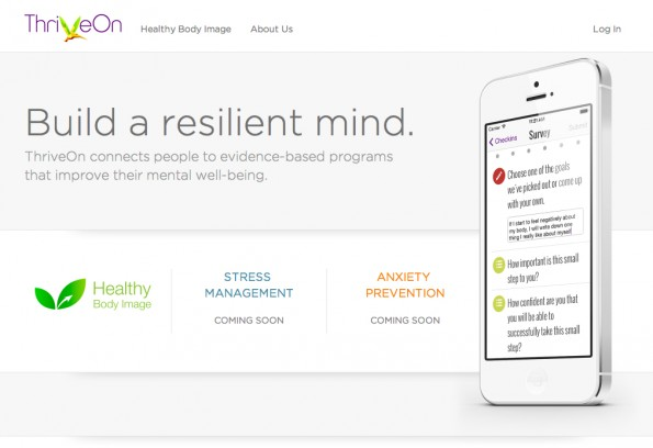 Um die hohen Behandlungskosten von Millionen US-Bürgern zu senken, bietet ThriveOn Heilpläne zur Selbstbehandlung an. (Screenshot: ThriveOn)