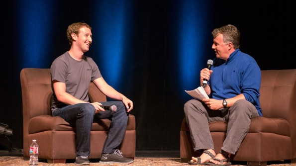 interview with mark zuckerberg Interviews with four technology entrepreneurs who have forever changed the  internet: max levchin, david karp, marc andreessen, and mark zuckerberg.