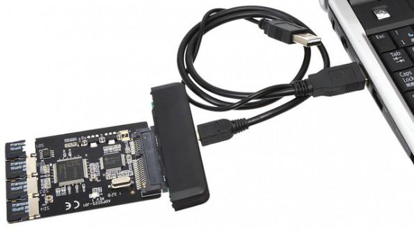 microSD-SSD-Creator-Kit: Wie man aus alten MicroSD-Karten ein SSD-Laufwerk macht. (Quelle: geekstuff4u.com