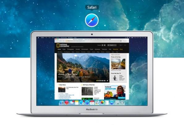 So könnte die Verbindung von OS X Mavericks und iOS 7 aussehen. (Bild: Edgar Rios)