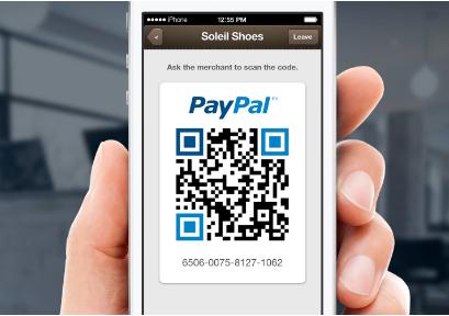 Paypal gibt mit dem Payment-Code dem Einzelhandel die Möglichkeit vorhandene Scanner und Zahlungstemrinals weiter zu nutzen. (Screenshot: Paypal)