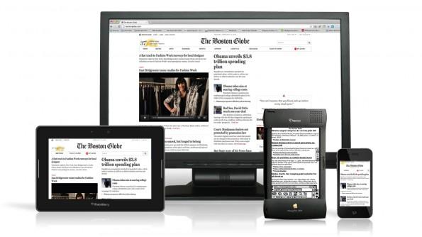 Flexibles Webdesign auf verschiedenen Geräten
