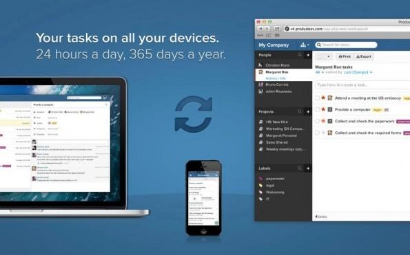 Producteev wird von Jive Software entwickelt. (Screenshot: iTunes)