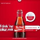 Trink ne Coke mit - ku klux klan