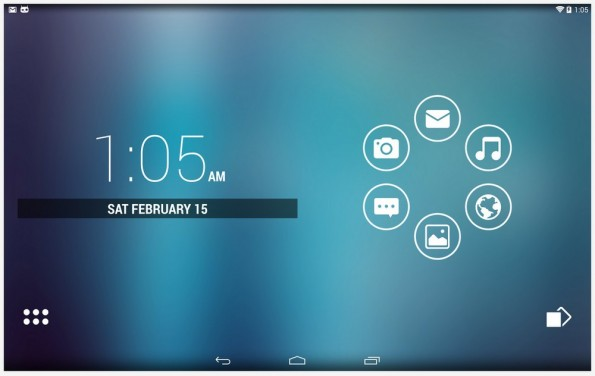 Smart Launcher 2: Cleverer Android-Launcher mit Gestensteuerung und aufgeräumter Oberfläche. (Screenshot: Google Play)