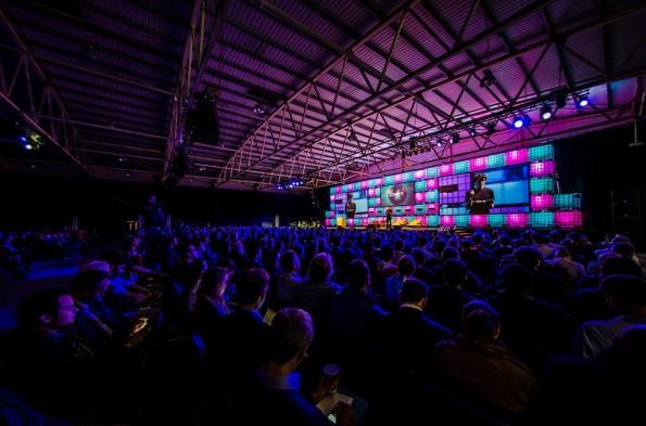 300 Speaker, 500 Journalisten und fast 1.000 Startups. (Foto: Dublin Web Summit)