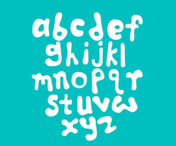 Der verspielte Font stammt von einem Designer aus Rangun und steht unter einer Creative-Commons-Lizenz. (Bild: Behance)