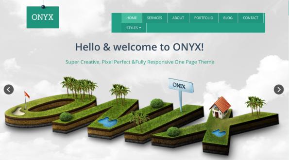 Onyx Joomla Template