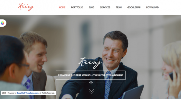 St King Joomla Template