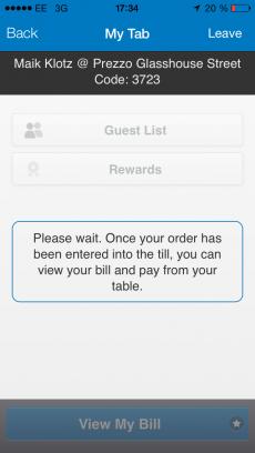 Mobile Payment in England mit der Paypal App (Foto: Maik Klotz)