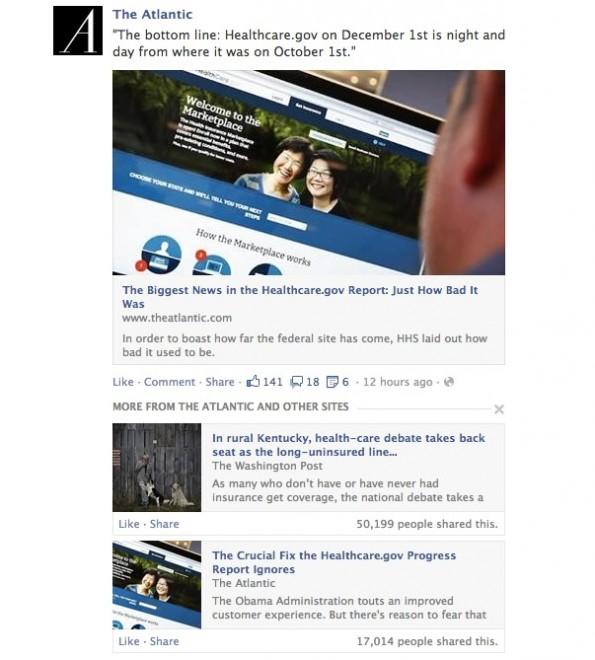 Facebook veröffentlicht ein Newsfeed-Update: Aktuelle Nachrichten sollen prominenter ausgegeben werden. (Screenshot: Facebook-Newsroom)