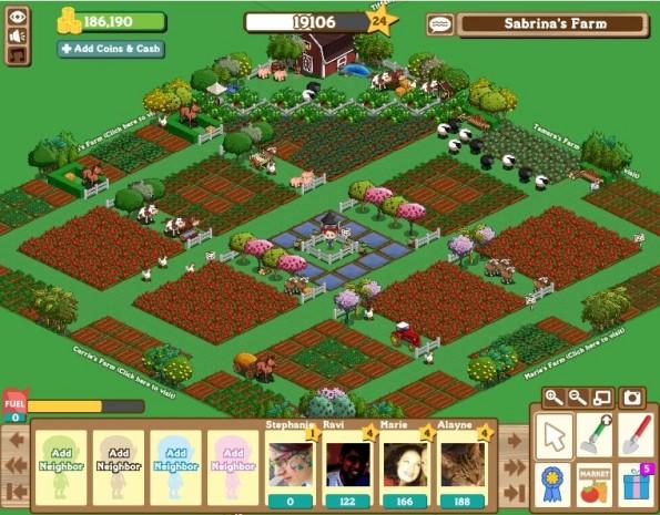 Farmville-Betrug: Ein Bauernhof wie dieser erhielt Agrasubventionen von der EU. (Screenshot: Sabrina Dent - Flickr)