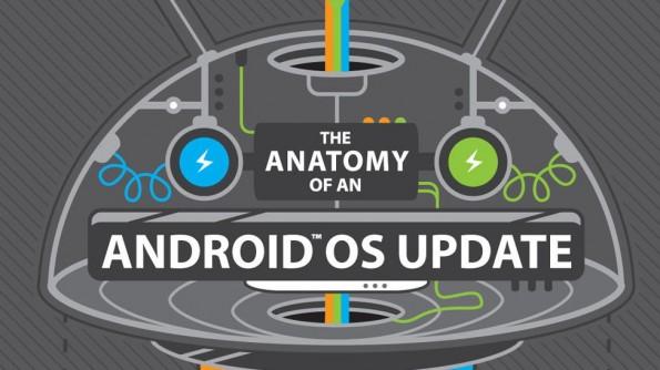 HTC: Der Weg eines Android-Updates (Infografik: HTC)