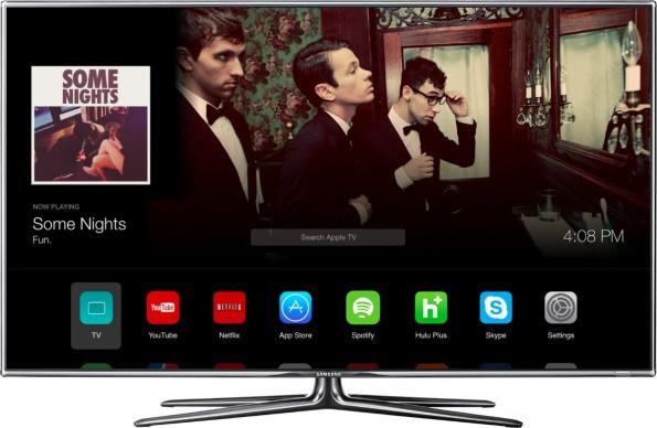Apple iTV: So könnte das Interface aussehen. (Bild: Andrew Ambrosino)