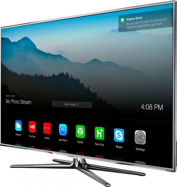 iTV: Das mögliche Interface eines Smat-TV von Apple. (Bild: Andrew Ambrosino)