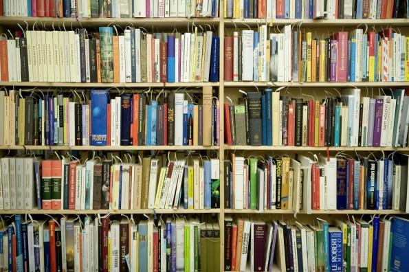 Steckt in diese Bücherwand ein Bestseller? Ein Algorithmus will das jetzt erkennen können. #FLICKR#
