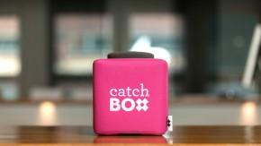 Catchbox: Stylisches Wurfmikrofon bringt Action in jeden Vortrag