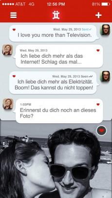 Twyxt: Couple-App mit vielen Messaging- und Archivierungs-Möglichkeiten. (Quelle: itunes.com)