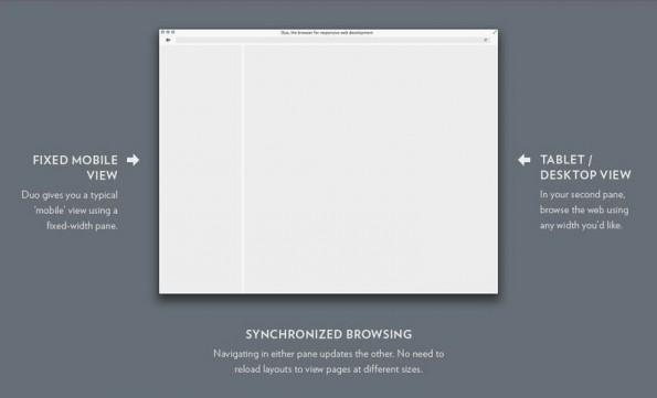 Responsive Webdesign: Duo hilft beim Testen von Webseiten. (Bild: Apple App-Store)