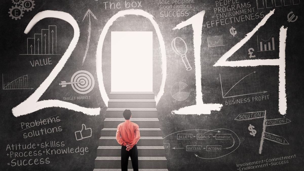 Wie wird 2014? - Magazine cover