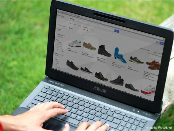 Wenn Konsumenten im Internet nach Produkten suchen, klicken sie Online-Shops nach bestimmten Kriterien an. (Screenshot: PlaceIt)
