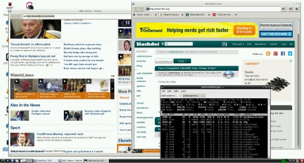 Raspberry Pi: Web-Browser befindet sich in der Beta-Phase. (Screenshot: Raspberry Pi)