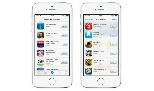 In einem Starter-Guide iOS darf der Hinweis darauf, dass ihr Apps automatisch im Hintergrund vom System aktualisieren lassen könnt, nicht fehlen. (Bild: Apple)