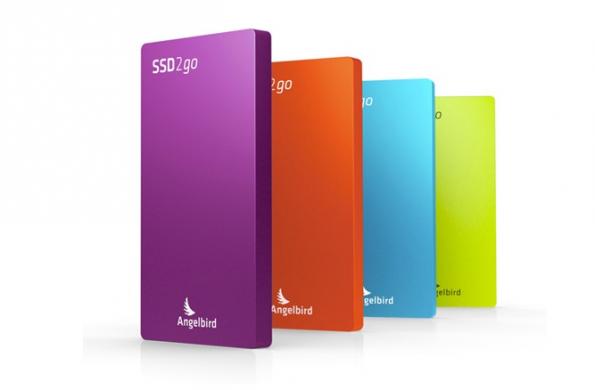 Die SSD2go ist eine schicke und smarte Festplatte für unterwegs. (Bild: Angelbird).