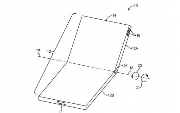 Apple-Patentantrag will faltbares Display, das große Oberflächen ganz klein macht.