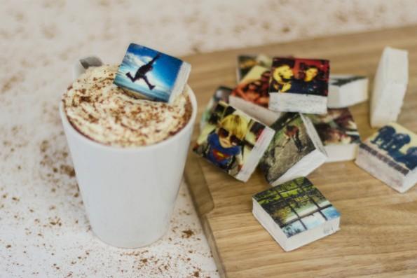 Boomf druckt dir deine Instagram-Fotos auf essbare Marshmallows. (Foto: Boomf)