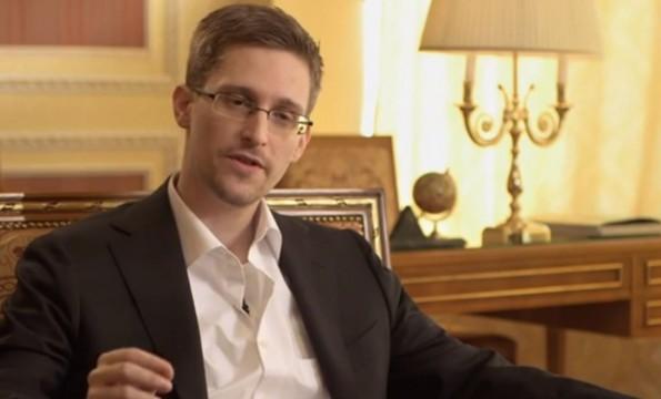 """Edward Snowden: """"Ich habe dem öffentlichen Wohl gedient"""". (Screenshot: YouTube)"""