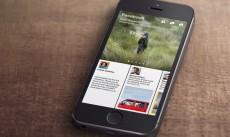Flipboard-Konkurrent Paper: Facebooks Reader-App startet am 3. Februar. (Screenshot: Facebook)