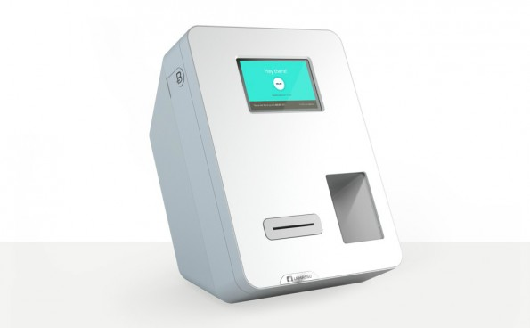 "Der Bitcoin-Geldautomat ""Bitcoin Machine"" (Screenshot: Lamassu)"