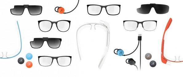 Auch zwei neue Sonnenbrillen-Elemente für die Explorer Edition finden sich ab sofort im Zubehör-Shop. (Quelle: google.com/glass)
