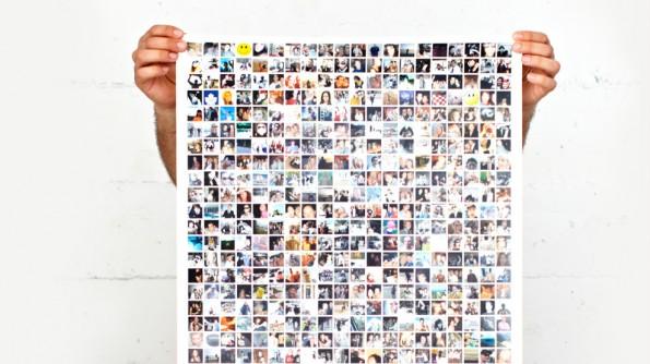 Das Internet beziehungsweise die Freunde als Poster ausdrucken: Mit Blueprints ist das kein Problem. (Screenshot: Blueprints)