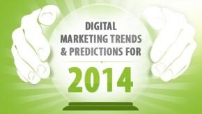 Die digitalen Marketingtrends für 2014 [Infografik]