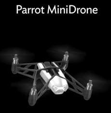 Parrot Minidrone: So sieht die kleine Drohne aus. (Bild: Parrot)