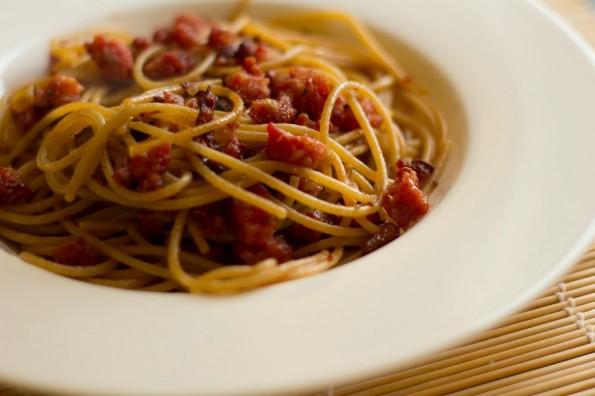 Pasta aus dem 3D-Drucker: Barilla soll bereits seit zwei Jahren daran arbeiten. (Foto: Luca Nebuloni / Flickr Lizenz: CC BY 2.0)
