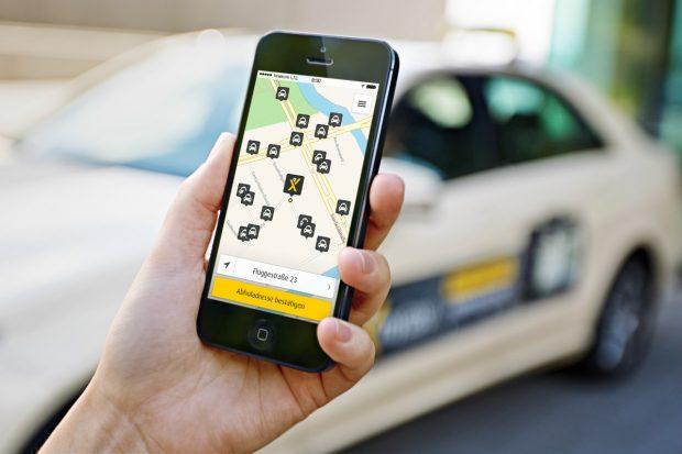 Hansa-Taxi sticht Konkurrent myTaxi aus | App für geteilte Taxifahrten
