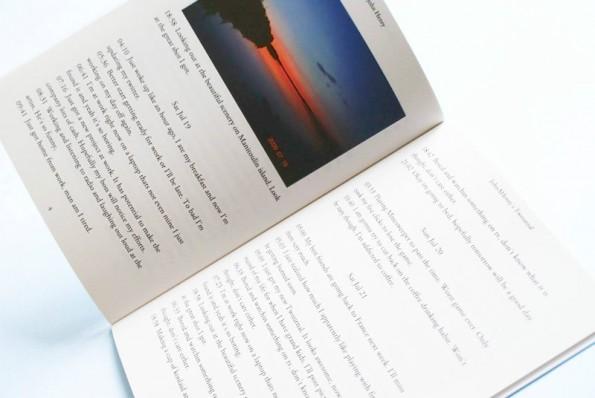 Mit Twournal kann man sich das eigene Twitter-Profil einfach als Tagebuch drucken lassen. (Foto: Twournal)