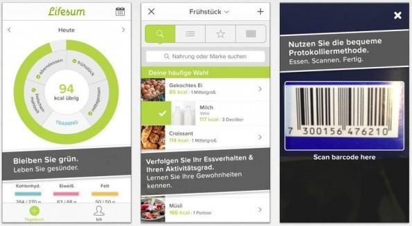 Die Lebensmitteldatendbank von Lifesum ist beachtlich. (Bild: iTunes)