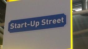 Die Startup-Street bei der Internet World Messe: Anlaufstelle für E-Commerce-Startups. (Foto: t3n)