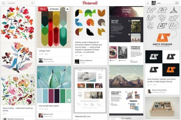 Was für's Auge: Die meisten Bilder bei Pinterest sind optisch anspruchsvoll.