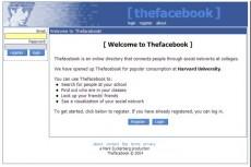 Das Design der Anfänge bei Facebook. (Screenshot: Design Reviver)