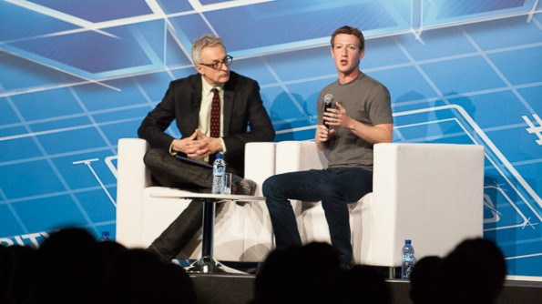 Facebook-Gründer Mark Zuckerberg hat eine Vision: Er will mit einem mobilen Internetkonzept rund zwei Drittel der Weltbevölkerung an das Netz und damit an Facebook und WhatsApp binden. (Foto: Christian Lewandrowski)